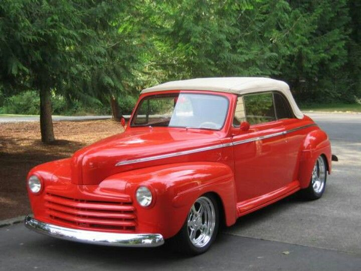 1946 ford convertible ford pinterest. Black Bedroom Furniture Sets. Home Design Ideas