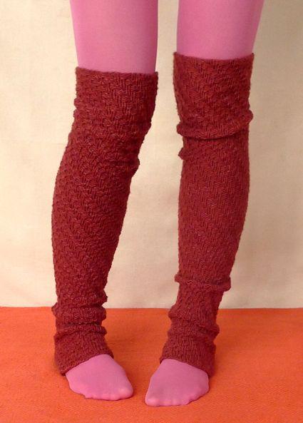 leg warmers pattern Knitting Pinterest