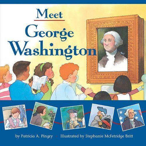 meet george washington activities for 1st