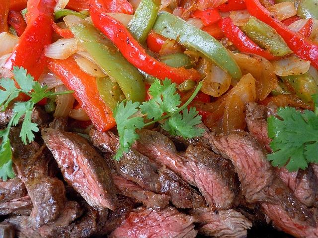 Skirt Steak for Fajitas | food that just looks good | Pinterest