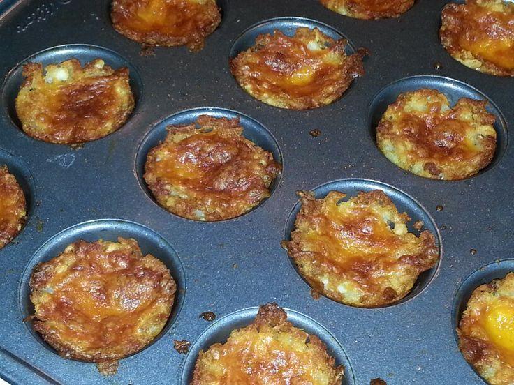 Cheesy potato bites | Recipes | Pinterest