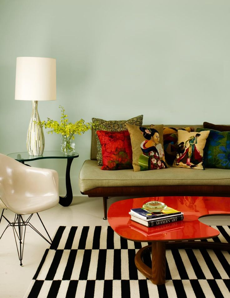 Mix and match the colors in your home until you find the perfect style.