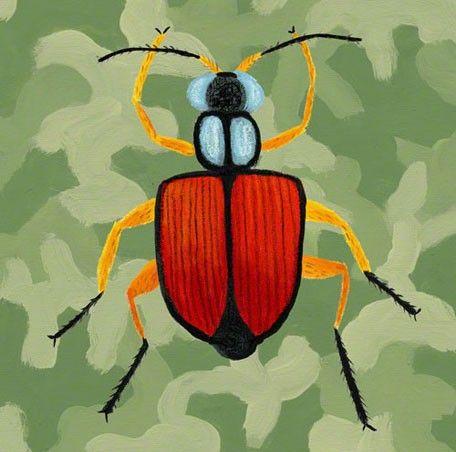 Green Camo Beetle - Derek would love this! | Boys' Bedroom Ideas