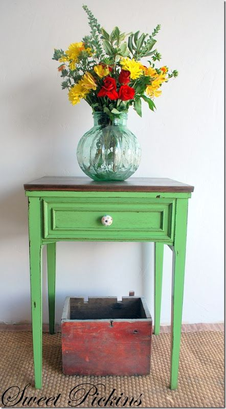 Repurpose sewing table colors furniture ideas pinterest - Four ways to repurpose an old sewing machine ...