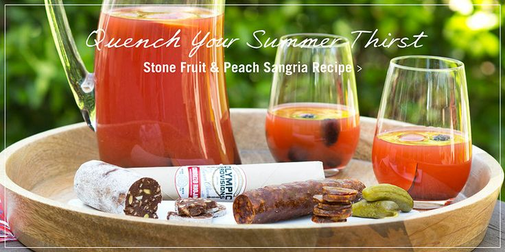 Stone Fruit Sangria Recipes from Epicurious - a great way to make use ...