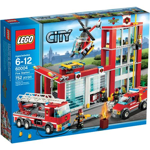 Walmart Helicopter Toys For Boys : Lego city fire station play set firemen for decatur