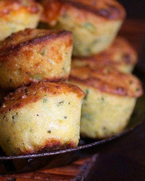 Jalapeño Cheddar Broccoli Corn Bread
