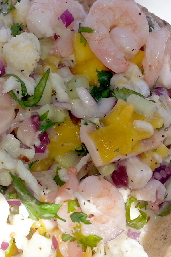 Tropical Ceviche Maya Style - The Nourished Caveman