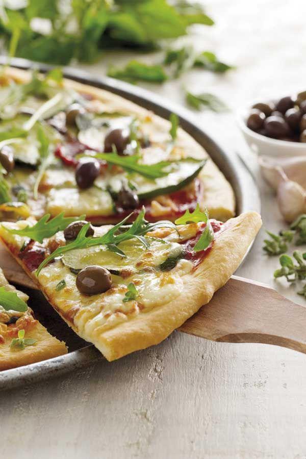 Garden Pizza #PerfectItiano #recipe | recipes | Pinterest