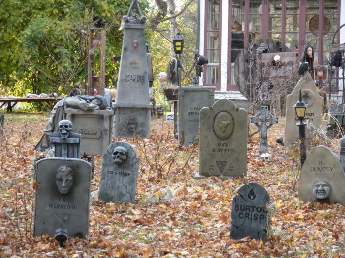 Cemetery In Front Yard | Fav Time Of Year | Pinterest