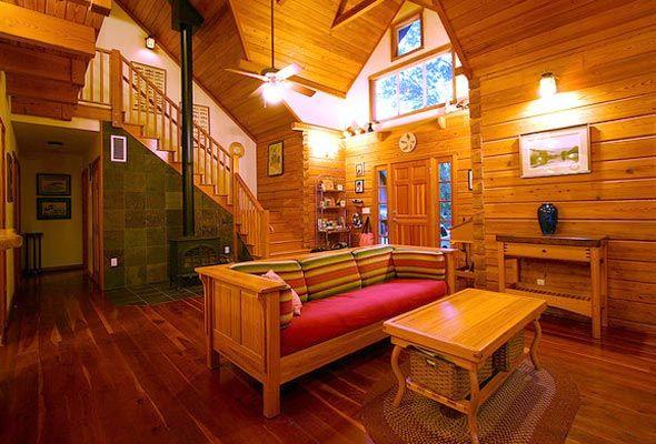 Luxury Log Cabin Interior Love It Loggin It Lovin