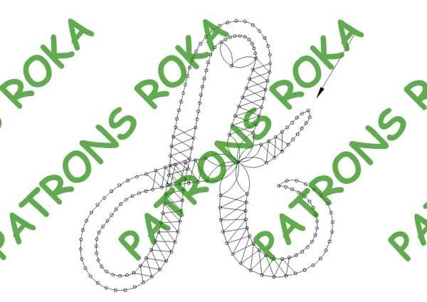 Patrons Roka - Fabricante de patrones encajes de bolillos