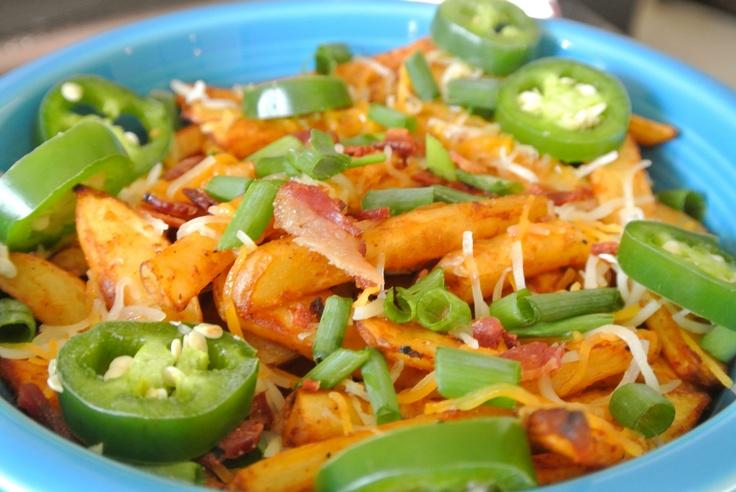 Skinny Texas Cheese Fries Recipe — Dishmaps