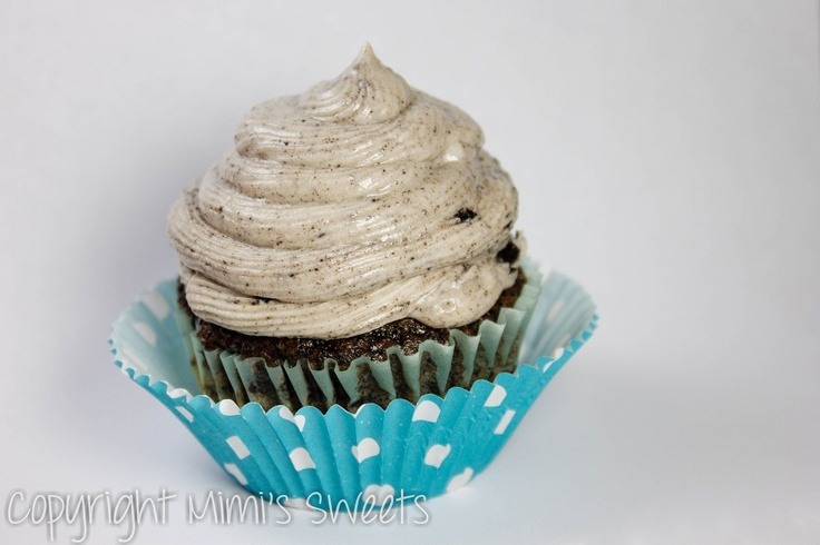 Chestnut Cupcakes & Swirled Chocolate Frosting Recipe ...