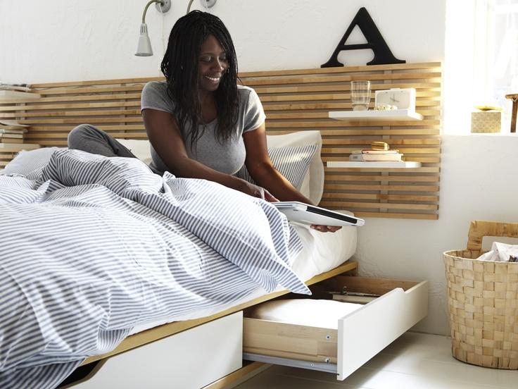 Ikea Aspelund Table De Chevet ~   μου! (Κρεβάτι με αποθηκευτικό χώρο Mandal