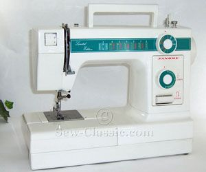 janome limited edition sewing machine model 108