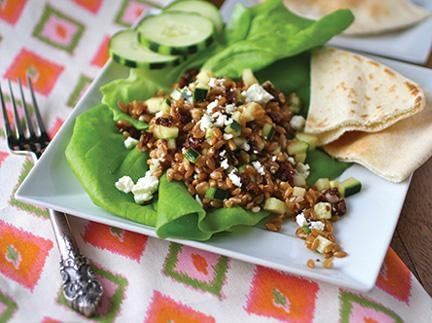 ... this whole-wheat wonder! Farro Salad with Sun-dried Tomatoes and Feta