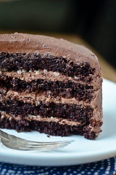 chocolate malt cake | chocoholic | Pinterest