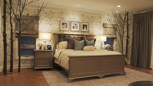 now that is a nature inspired bedroom for the home
