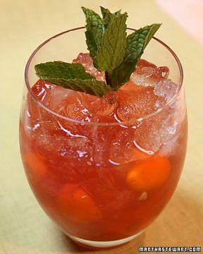 ... horrible..) the crash - orange, pomegranate, lime and mango - yum