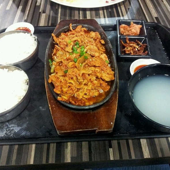 Korean Rice With Spice And Vegetables @ Centerpoint