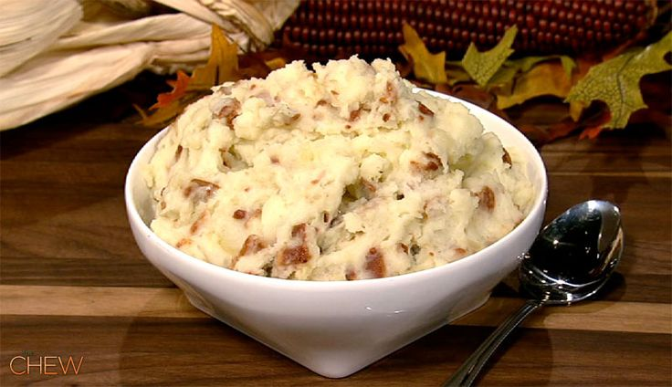 Nigella Lawson's Cheddar Mashed Potatoes With Bacon and Apples Recipe ...