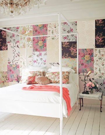 Wallpaper Remnants Inspiration With Patchwork Wall Pictures
