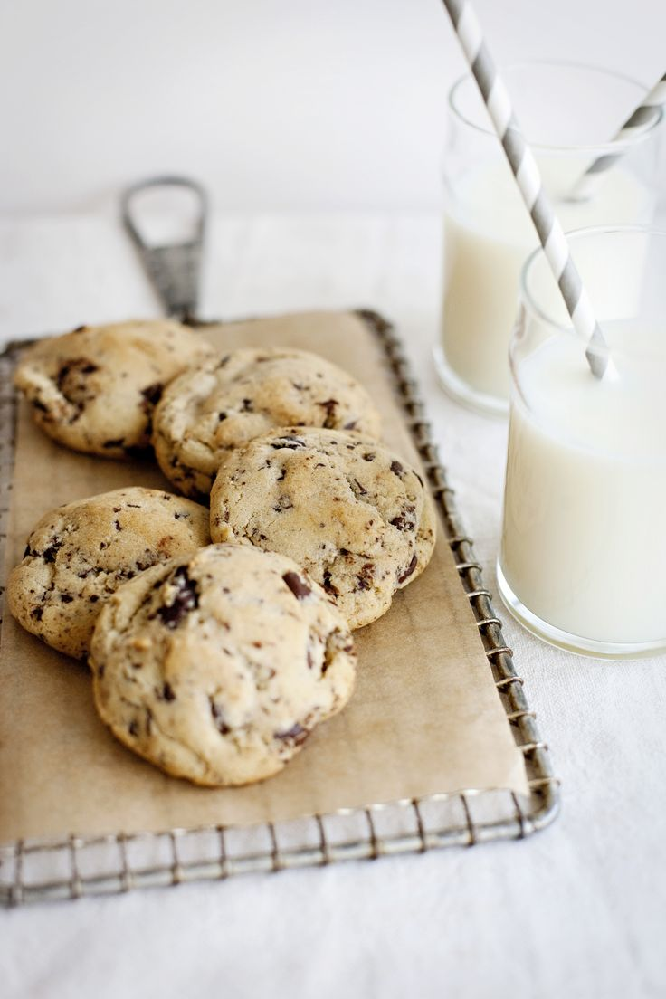 mothers day chocolate chip cookies | channeling martha. | Pinterest