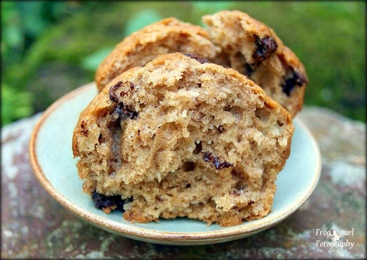 Chunky Monkey Banana Muffins | Cupcakes and Muffins | Pinterest