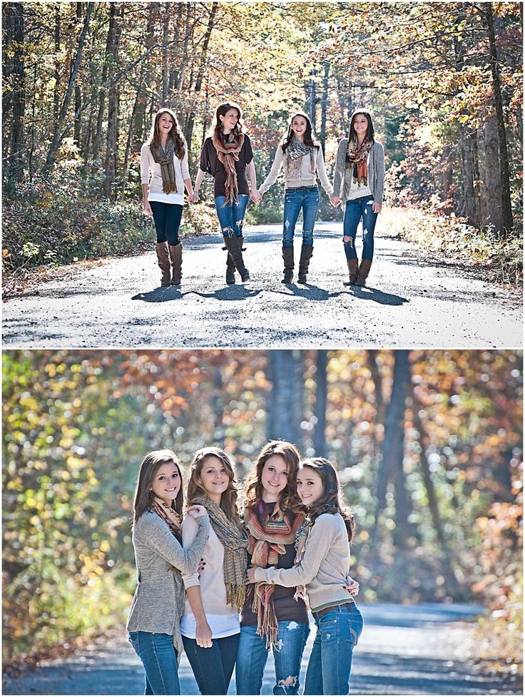 The 4 girls photography older siblings pinterest for Photoshoot ideas for groups
