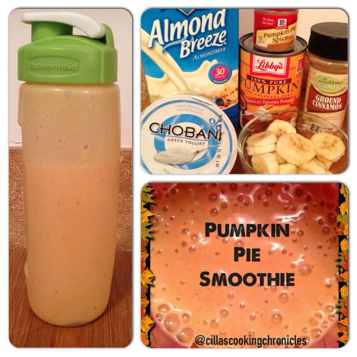 Creamy Pumpkin Pie Smoothie For Two Recipe — Dishmaps