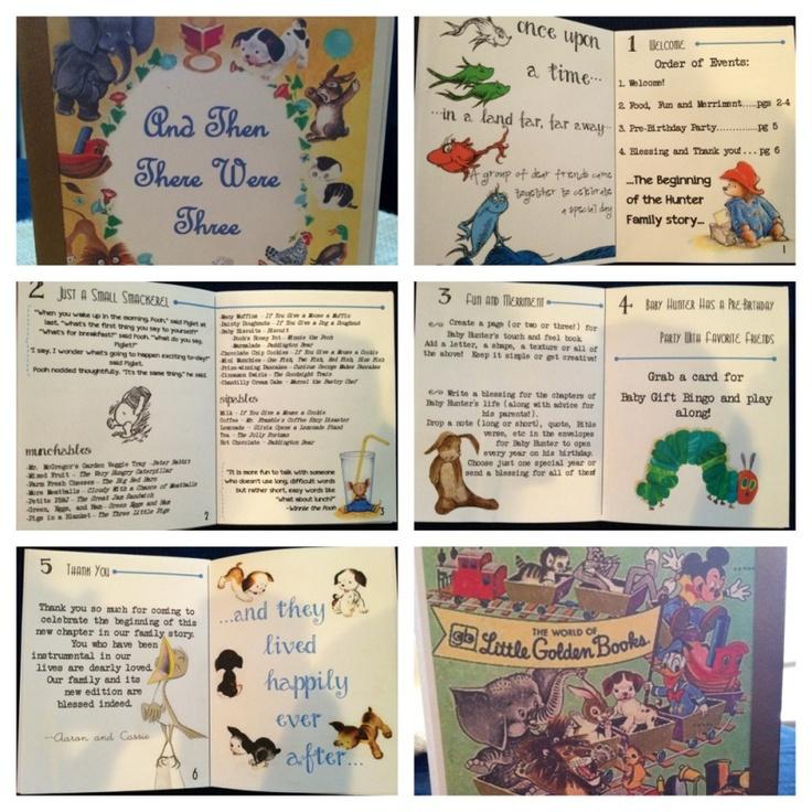 book programs baby shower boy pinterest