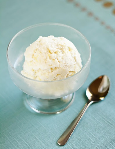 Coconut Milk Ice Cream With Ginger And Lime Recipe — Dishmaps