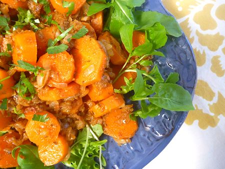 carrot and parsnip salad north african spiced carrot and parsnip salad ...