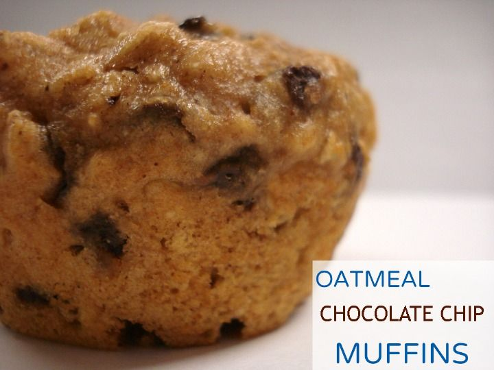 Oatmeal Chocolate Chip Muffins | Sweet Tooth | Pinterest