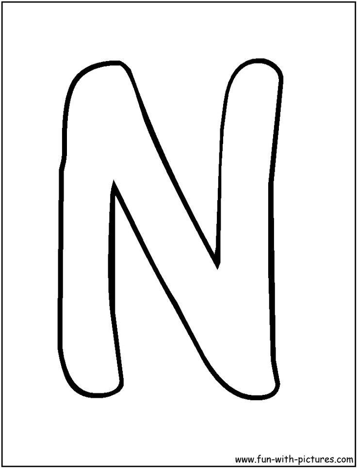 Bubble Letter P Template