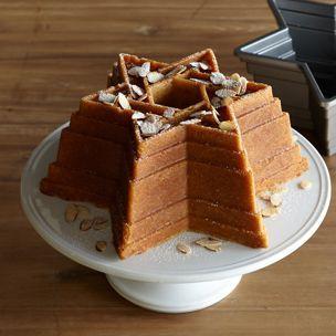 Honey-Almond Bundt Cake | Williams-Sonoma | Jewish | Pinterest