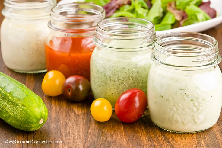 Classic Homemade Salad Dressings from MyGourmetConnection ~ Blue ...