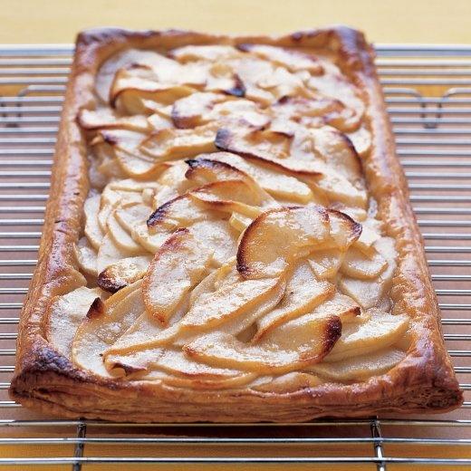 Rustic Apple-Cinnamon Tart Recipe — Dishmaps
