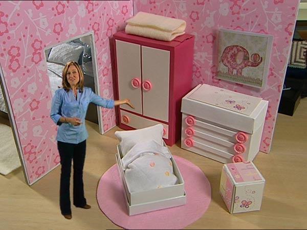 Make Your Own Dolls House American Girl Pinterest