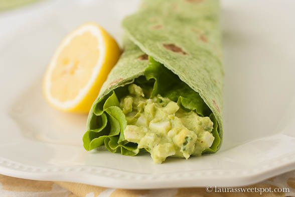 Avocado Egg Salad | Recipes | Pinterest