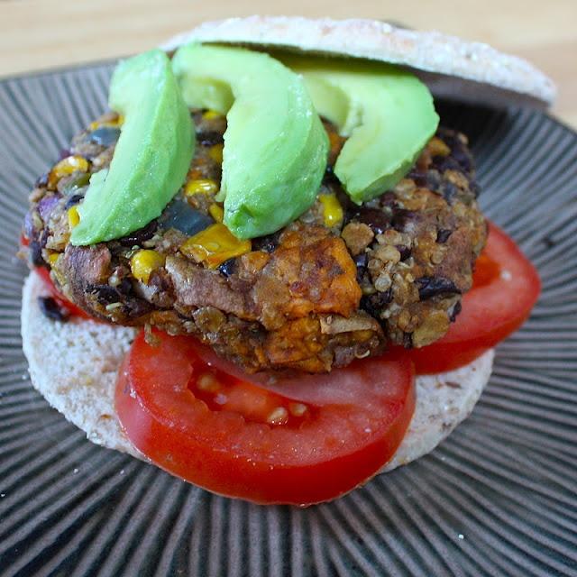 Sweet potato black bean burgers | Good Eats. | Pinterest