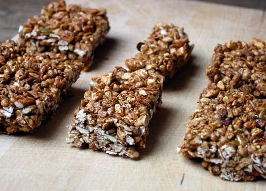 Crunchy Granola Bars | Recipe
