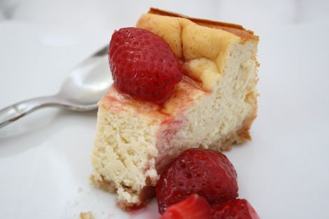 Ricotta cheesecake | Pies and Cheesecakes ♥ ♡ ♥ | Pinterest
