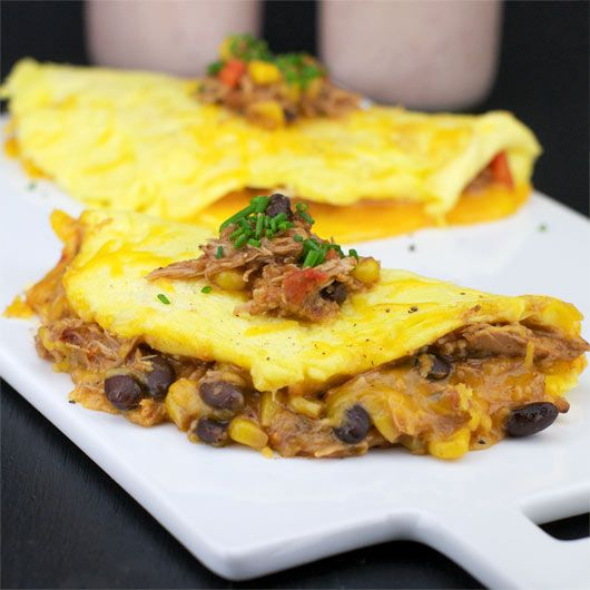 Chili Cheese Omelet | New Recipes to Try - Breakfast | Pinterest