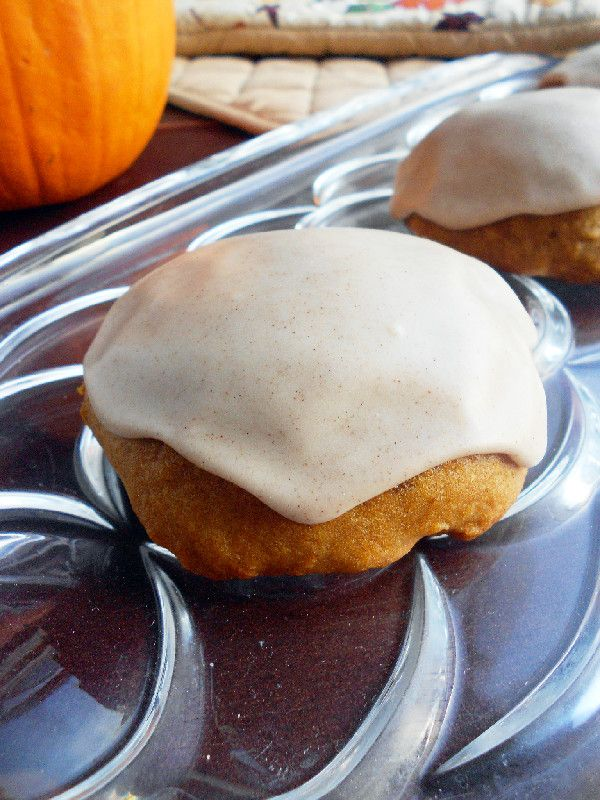 Culinary Couture: Iced Pumpkin Cookies