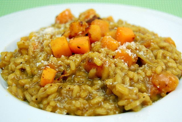 Butternut squash risotto | healthy eats | Pinterest