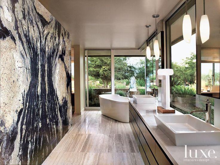 Granite Slab Wall Granite Pinterest