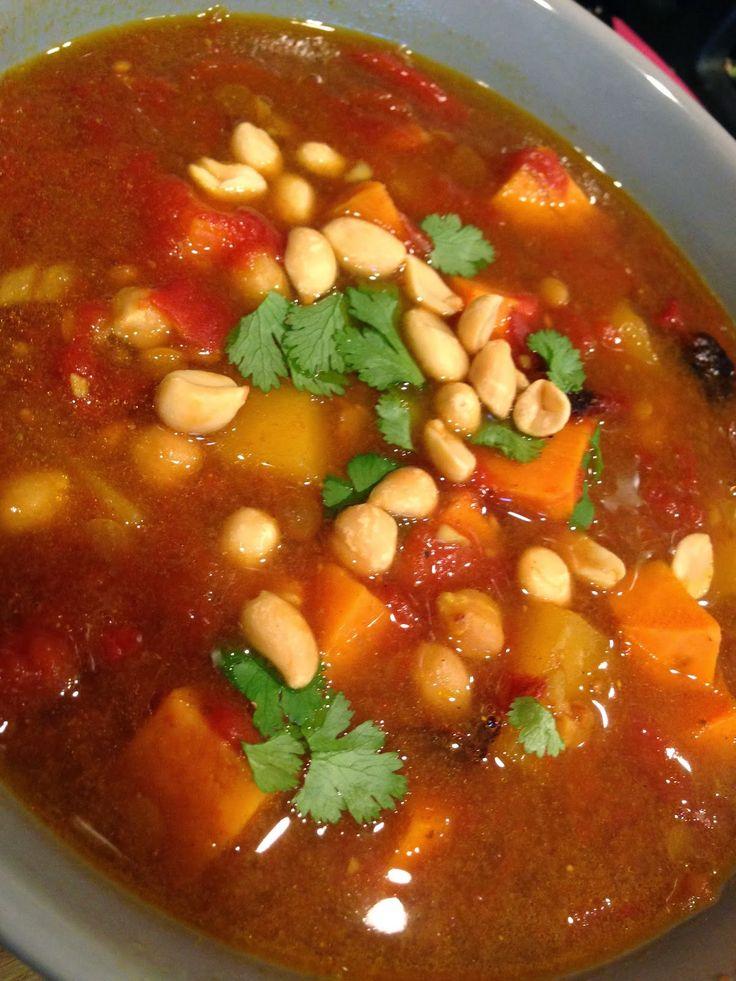 African peanut stew | around the world | Pinterest