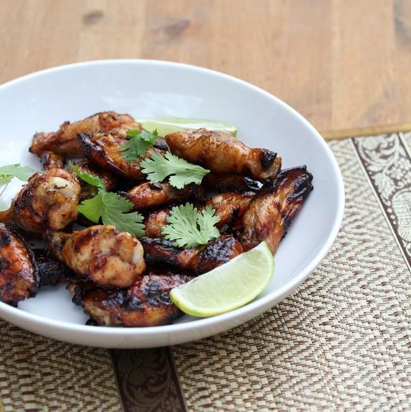 Chicken Recipe : Honey Lime Glazed Thai Chicken Wings